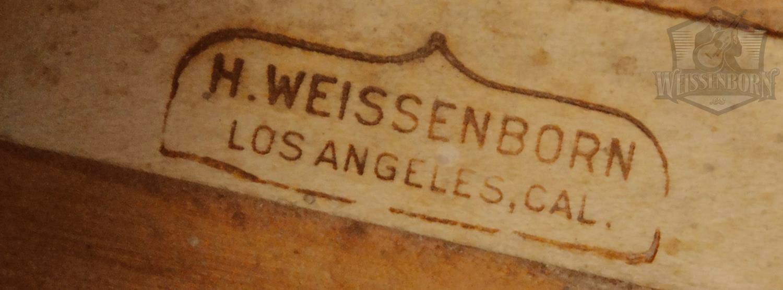 Weissenborn brand 2